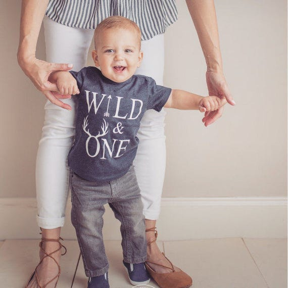 Wild One Birthday Boy Year Old Outfit