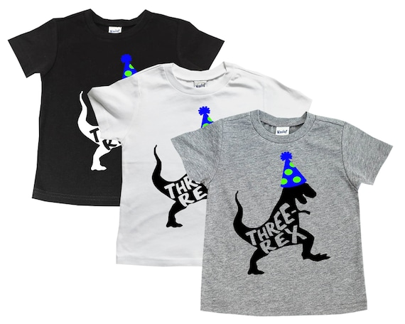 Dinosaur Birthday Shirt T Rex 3rd
