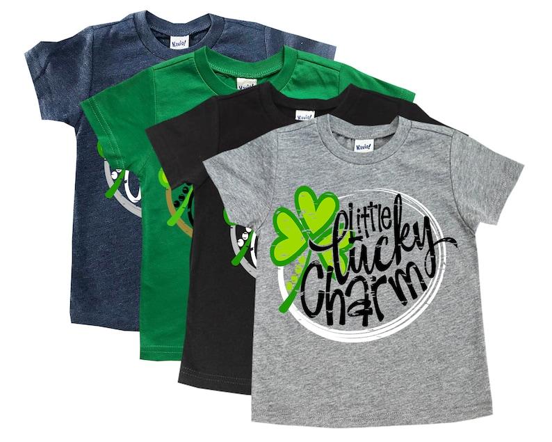41f0c4d8 Toddler St. Patrick's Day shirt Little Lucky Charm Kids | Etsy