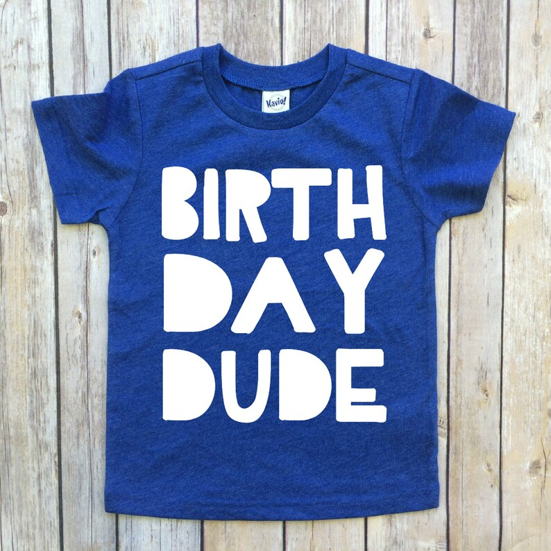 2nd Birthday Boy Shirt Boys Dude