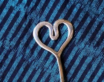 Heart Shawl Stick WB-127