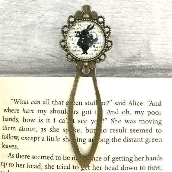 Alice In Wonderland Brooch Literary Gift