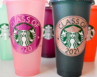 Class of 2020, Class of 2021, 2022 Class of 2025 Cold Cup Tumbler | Gift for Grad | Grad Party Favors | Graduation Gifts | Senior Night