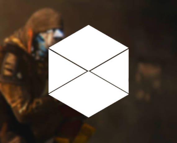 Destiny 2 Titan Symbol Vinyl Decal