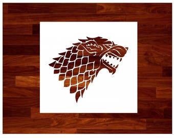 picture relating to Game of Thrones Stencil Printable named Targaryen Recreation of Thrones Space Targaryen Stencil Etsy