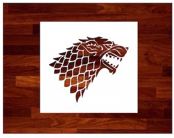 picture relating to Game of Thrones Stencil Printable named Targaryen Recreation of Thrones Space Targaryen Stencil Etsy