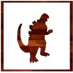 Godzilla Custom Stencil