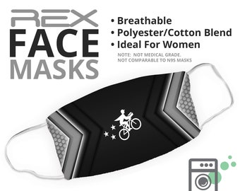 REX Style - Delivery Face Mask - Face Cover - Multiple Styles Available