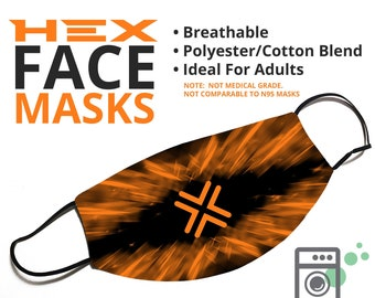 HEX Style - Delivery Face Mask - Face Cover - Multiple Styles Available