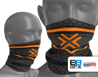Amazon Flex Delivery Driver - Neck Gaiter - Face Cover - Multiple Sizes!