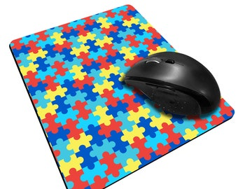 Autism Awareness Sublimated Mouse Pad