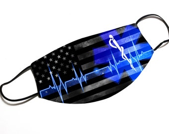 EMT USA Flag Support - Face Cover - Multiple Styles Available