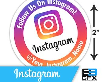 Instagram Info Stickers Facebook Review Stickers Follow Us on IG Stickers Etsy Review Stickers Etsy Seller Stickers Website Stickers