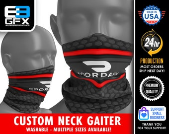 Doordash Delivery Driver - Neck Gaiter - Face Cover - Multiple Sizes!