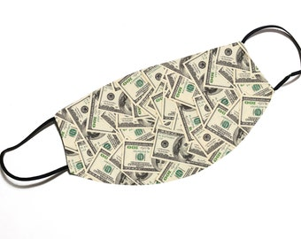 Money Money Money - Funny - Face Mask - Face Cover