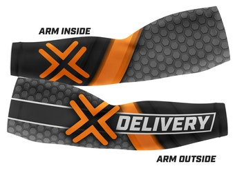 Amazon Flex Delivery Custom Arm Sleeves (Multiple sizes available)