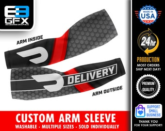 Doordash Delivery Custom Arm Sleeve (Multiple sizes available)