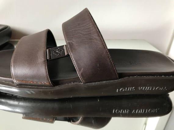 Louis Vuitton Mens slippers Vintage - image 6