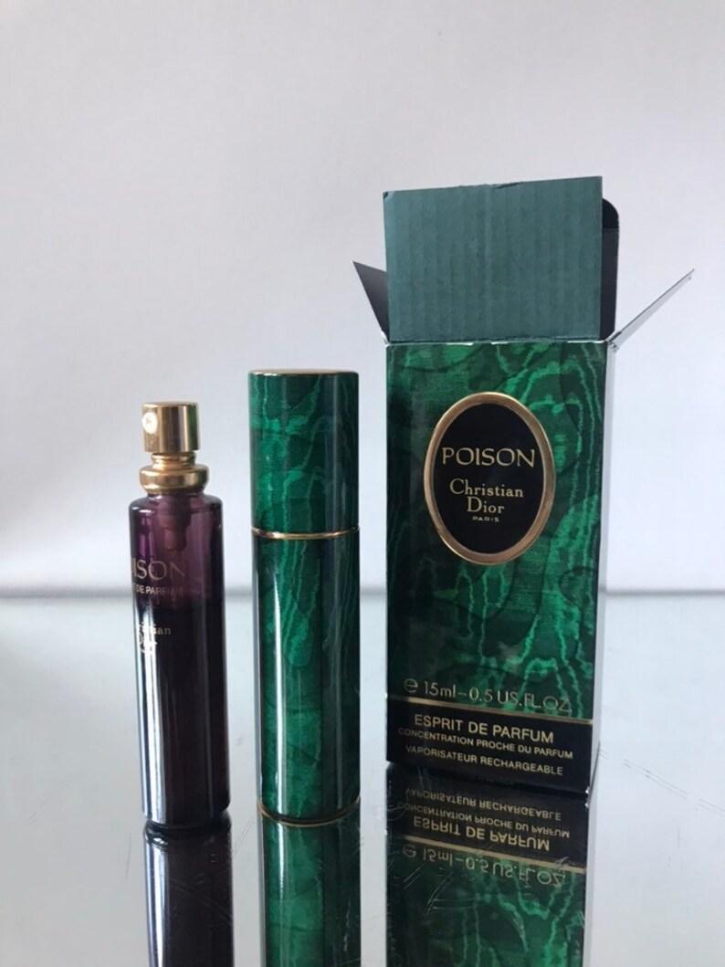 Poison Dior Recharge Esprit De Parfum Vintage Etsy