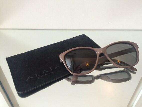ALAIA sunglasses vintage 1990's