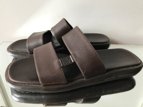 Louis Vuitton Mens slippers Vintage - image 4