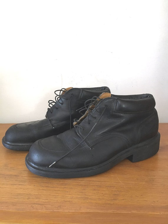 Vintage Doc Martens Ankle Boots, Made in England,