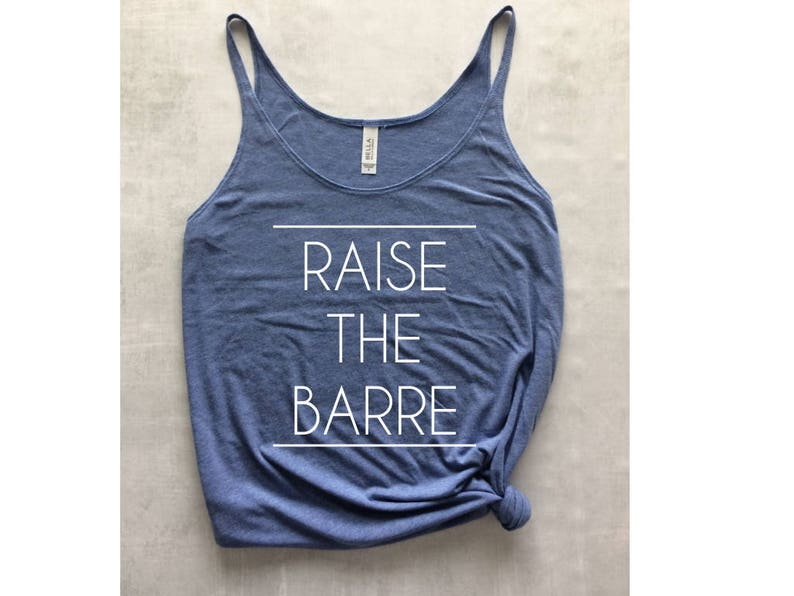 72d374b0 Barre tank top raise the barre tank ballet tank top yoga | Etsy