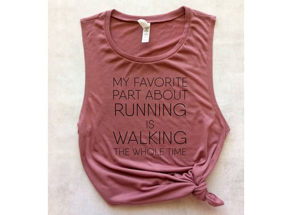 pink running tank top workout tank funny running shirt race  f5fe13061