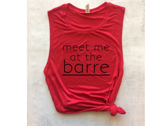 8154139021e3f red barre tank top meet me at the barre workout tank ballet