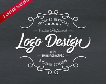 Custom Logo Design, Graphic design, Professional Logo, logo designer, Small business, logo, shop logo, Brand Logo,Company Logo,Vintage Logo