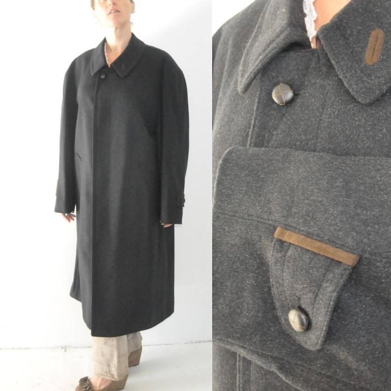 Loden BUGATTI originale austriaco cappotto 24 XL grande lusso  7faaa3697f7