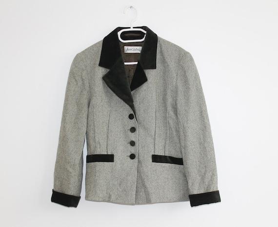 Pure Wool Velvet Vintage Tailored Traditional Jack
