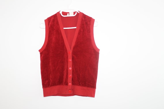 Small Velvet Vest Jacket Cardigan Velvet Fitted Wa
