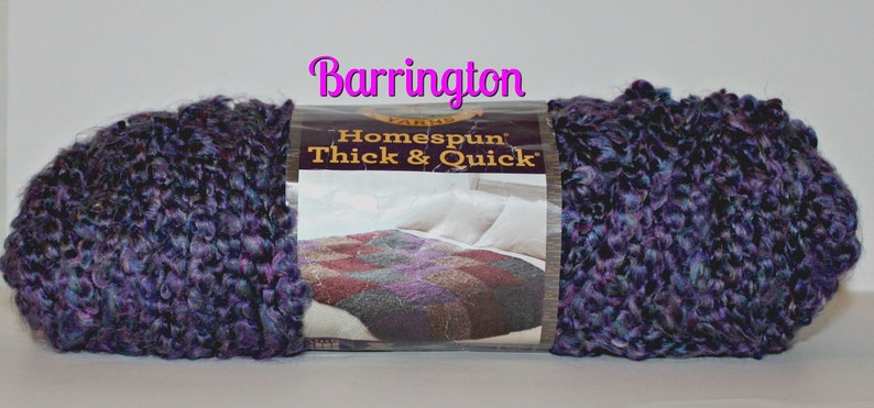 Perfect for making things for baby hats and more hats blankets Bright Colors accessories Homespun Thick /& Quick by Lion Brand toys