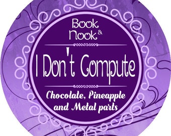 I Don't Compute | 4.5oz tin | The Lunar Chronicles Scented Soy Candl