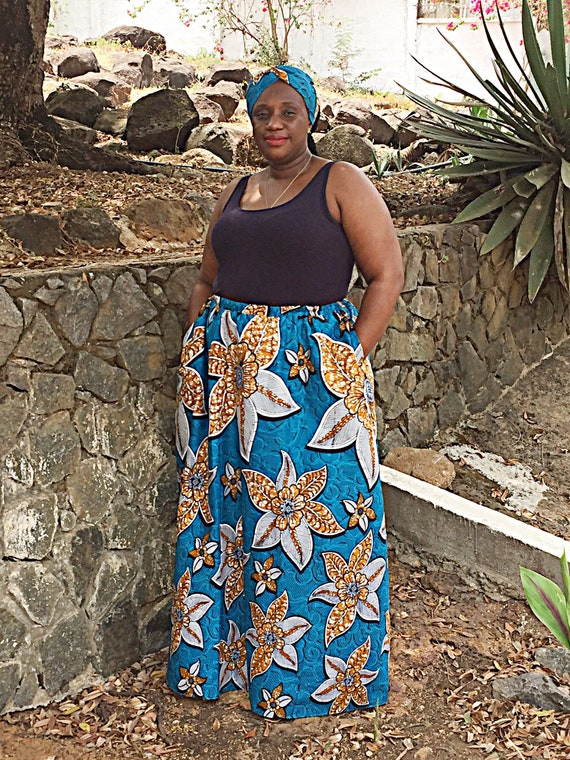 wax size skirt maxi plus maxi skirt African long ankara african ankara skirt fashion wax skirt print skirt RgfqB0w