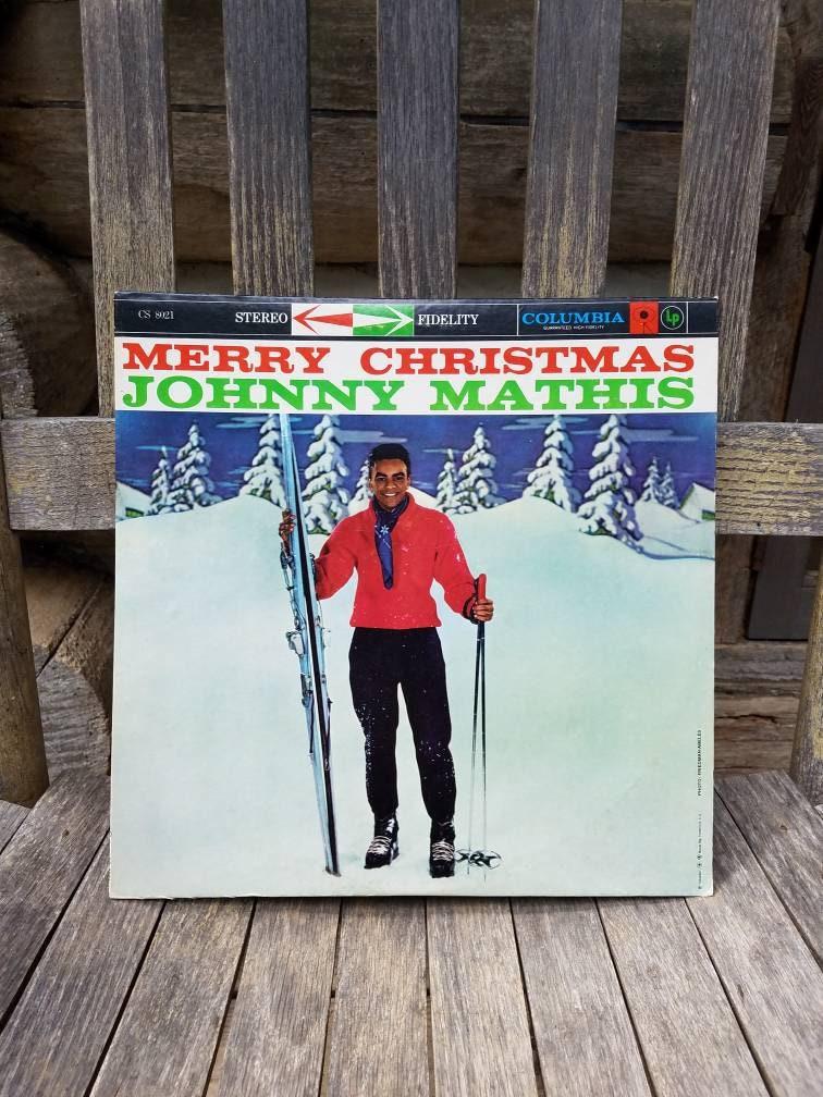 merry christmas johnny mathis album 1959 percy etsy - Johnny Mathis Merry Christmas