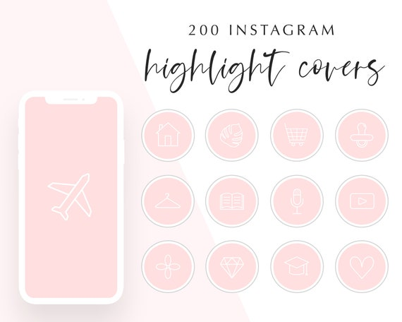 200 Pink Instagram Story Highlight Covers Pink Instagram Etsy Square girly pink background instagram logo | citypng. 200 pink instagram story highlight covers pink instagram story highlight icons blush highlights for instagram