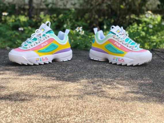 fila multicolor