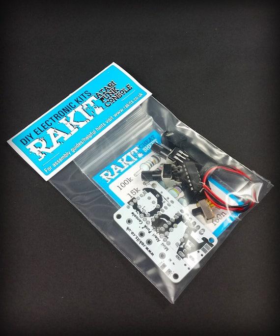 Atari Punk Console Kit Beginners Diy Electronic Project Etsy
