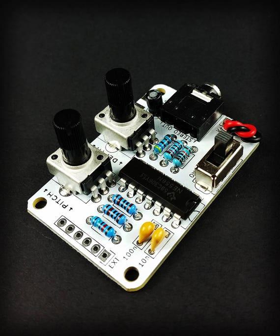Atari Punk Console Kit Beginners Diy Electronic Project Circuit Bent Synthesizer Noisemaker