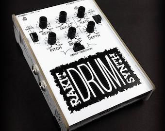 Analogue Drum Synth diy soldering kit by Rakit. Boss PC-2 AMDEK PCK-100 clone