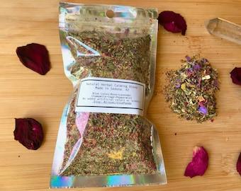 Calming Herbal Blend Blue Lotus | Rose | Chamomile + More | Organic