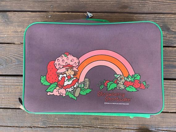 1990s Strawberry Shortcake Suitcase