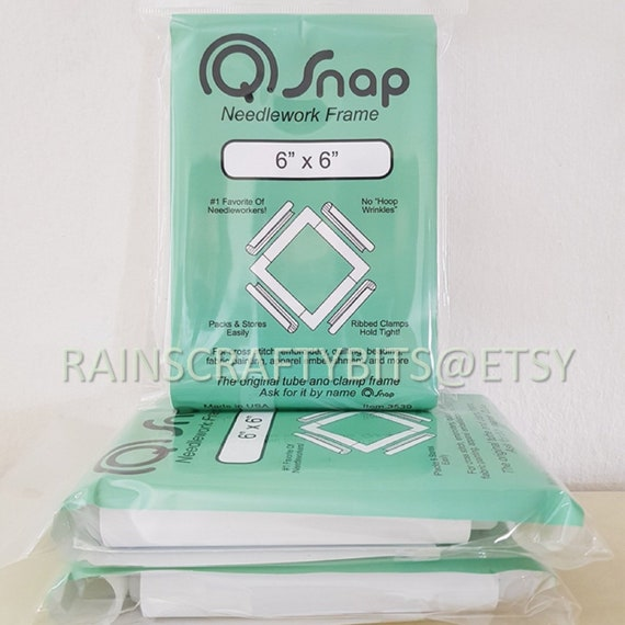 Q-Snap Frame PVC Tubing 8 by 8-Inch for Needlework /& Quilting