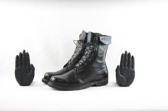 Size 8 Vintage Boots-Vintage Men Boots-Men Vintage