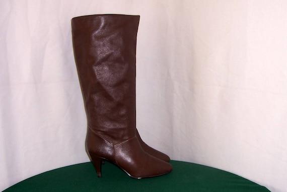 Size 8 Boots-Vintage Boots-Vintage Women Boots-Tal