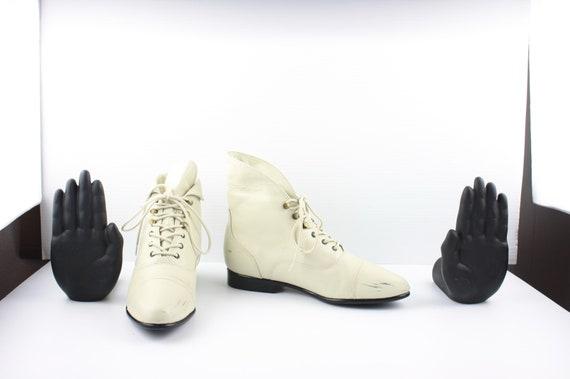 Size 8.5 Boots-Vintage Women's Maine Woods Boots-… - image 4
