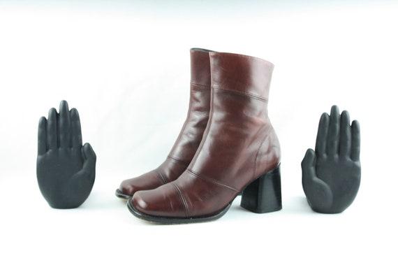 Size 7 Boots-Vintage Women's Boots-1980's Women's… - image 4
