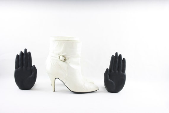 Vintage Booties-Vintage Women Boots-Ankle Boots-Wh